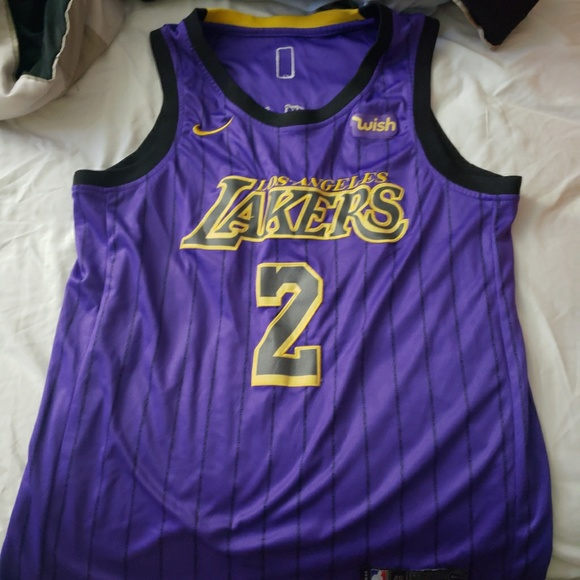 the best attitude 8a40a ab4ef Lakers Lonzo Ball 2019 jersey